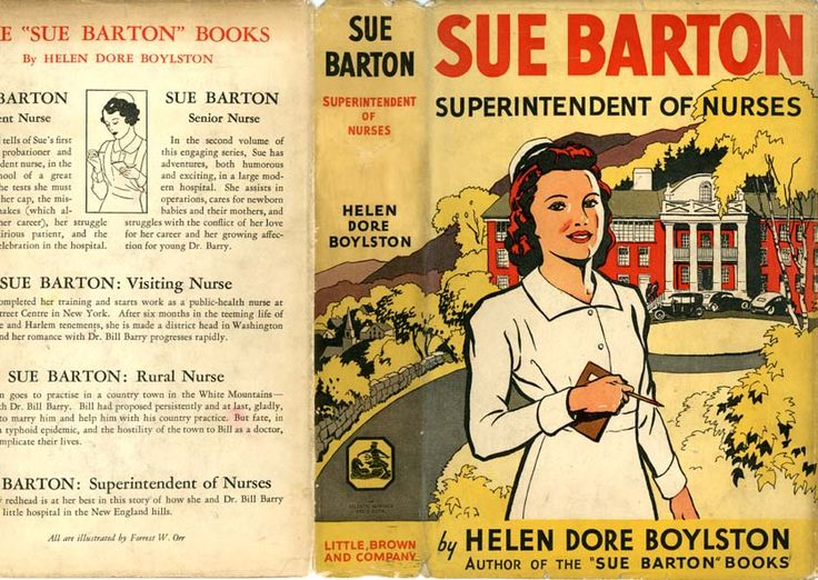 Girls' series written by Helen Dore Boyleston, Rose's friend, aka Troub