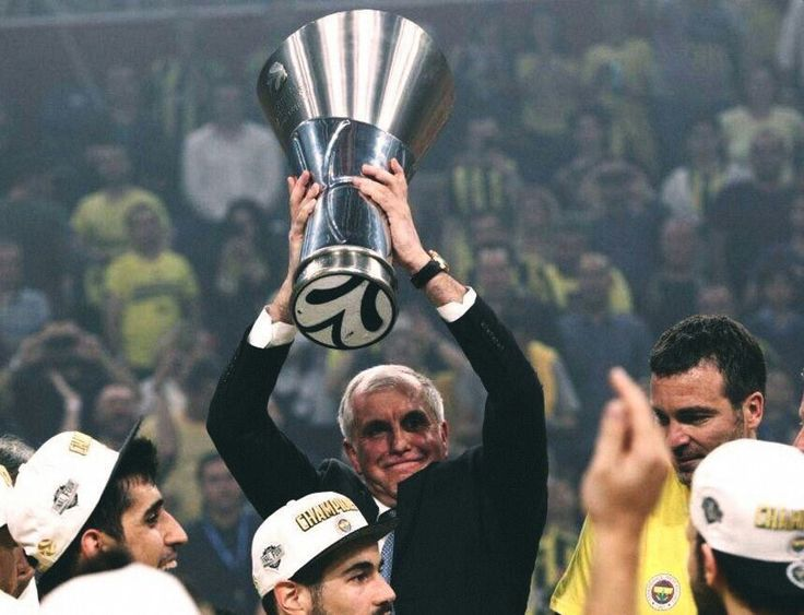 Zeljko Obradović  Fenerbahçe  #Basketball  Euroleague Champion  #Fener4Glory