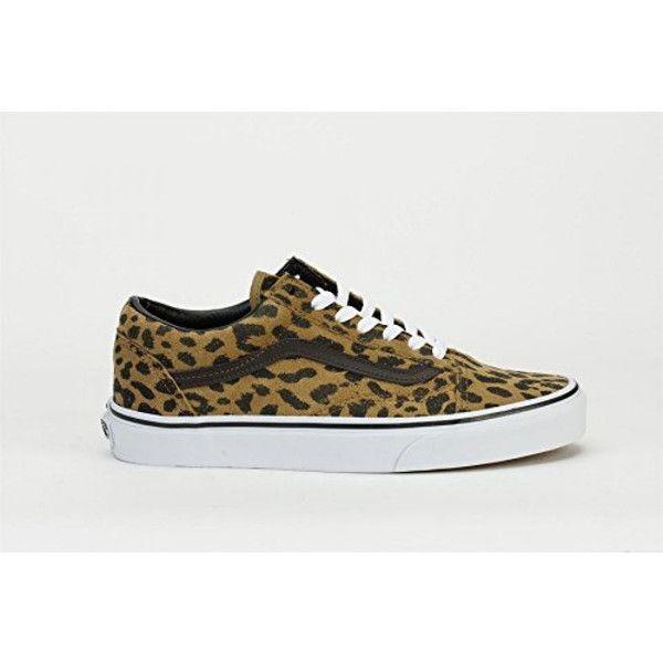 5493b3e446 Vans Womens Old Skool Skate sneakers Leopard Suede Dark Khaki   dea-regalo AU-B00QV928MM  -  39.99   Vans Shop