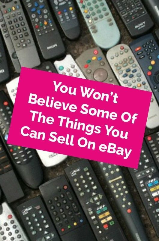 You Won't Believe Some of the Things You Can Sell on eBay | They say one man's trash is another man's treasure, and whilst you might have a tough time getting anyone to buy the contents of your black bin, you'll be surprised what else people will snap up.