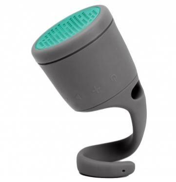 Boom waterproof Bluetooth speaker - perfect for singing in the shower. Heh.