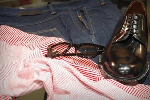 Tshirt Mauro Grifoni - occhiali Bob Sdrunk - derby Green George - #georgesroma #maurogrifoni #bobsdrunk