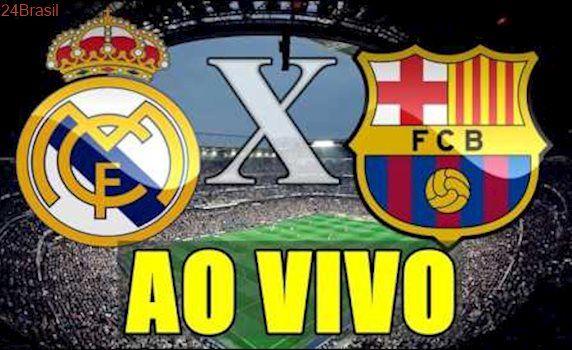 REAL MADRID X BARCELONA - AO VIVO HD