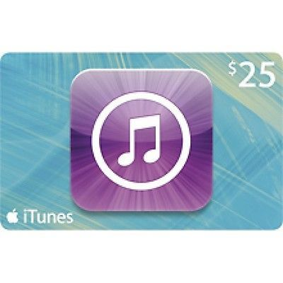 $25 Apple itunes Gift Card. Visit http://dealtodeals.com/apple-itunes-gift-card/d20796/gadgets-gps-navigation/c49/