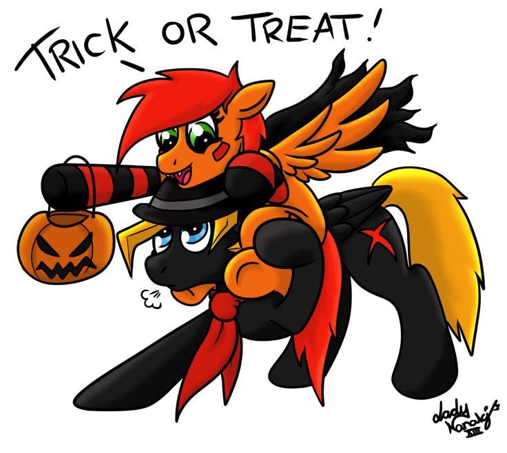 Trick or Treat by blackbirdrose on DeviantArt