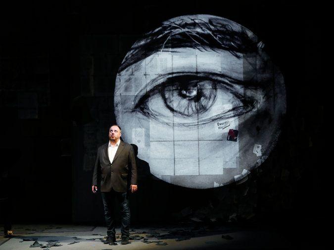 "william kentridge ""Winterreise"" - Teatro dei Rinnovati, Siena, 16 luglio 2015"