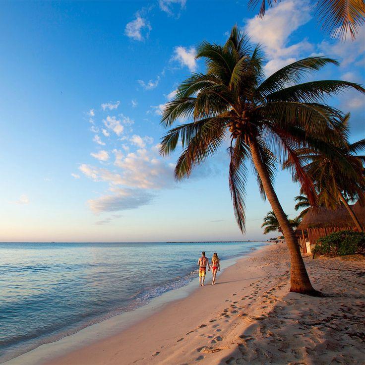 13 Outrageously Romantic Beach Getaways for Valentine's Day: Mahekal Beach Resort, Playa del Carmen, Mexico. Coastalliving.com