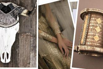 Wedding Theme Inspiration | Gilded Love (instagram: the_lane)