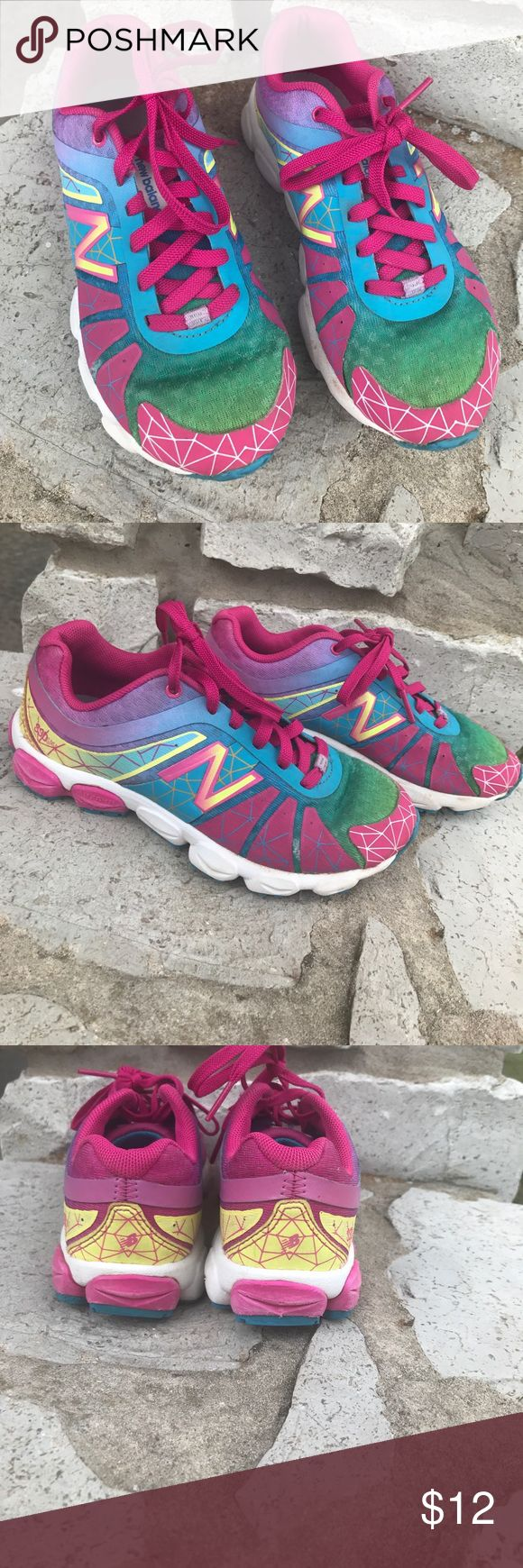 New Balance ABZORB girls shoes Super cute, gently used, girls new balance runners, size 13 New Balance Shoes Sneakers