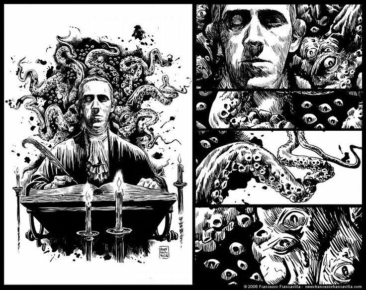 Francesco Francavilla's incredible line artwork, from 2006.