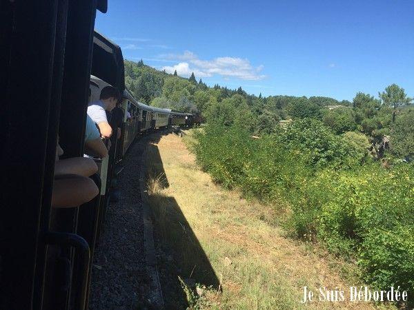D'Anduze à Saint Jean du Gard, le petit Train des Cévennes est un train à vapeur qui fait voyager à la fois dans le temps et dans de magnifiques paysages.