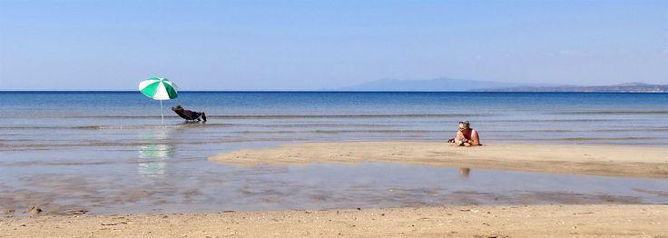 Spiaggia di Is Arenas - Guido e Cinzia - photo di Francesco e Valentina - Agosto 2015 - #guidofrilli