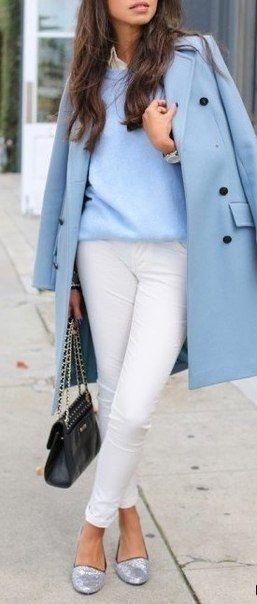 Яркие весенние луки с пальто. В таком образе точно не получится остаться незамеченной в толпе!