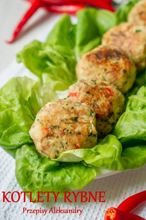 Fishcakes with tuna, potatoes, herbs and chili / Kotlety rybne z tuńczykiem, ziemniakami, ziołami i chili