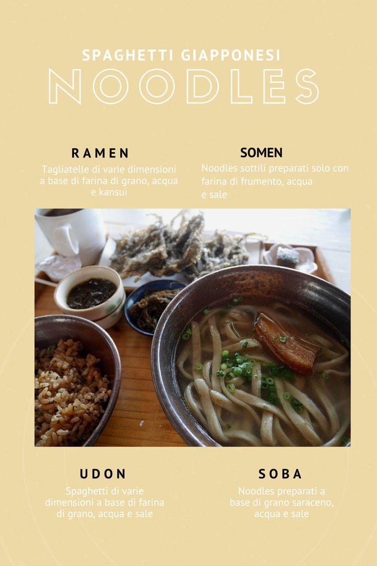 Tutti i noodles giapponesi...