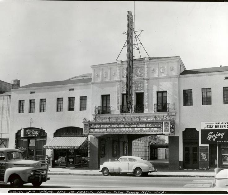 Golden Gate Theatre, East Los Angeles, 1955