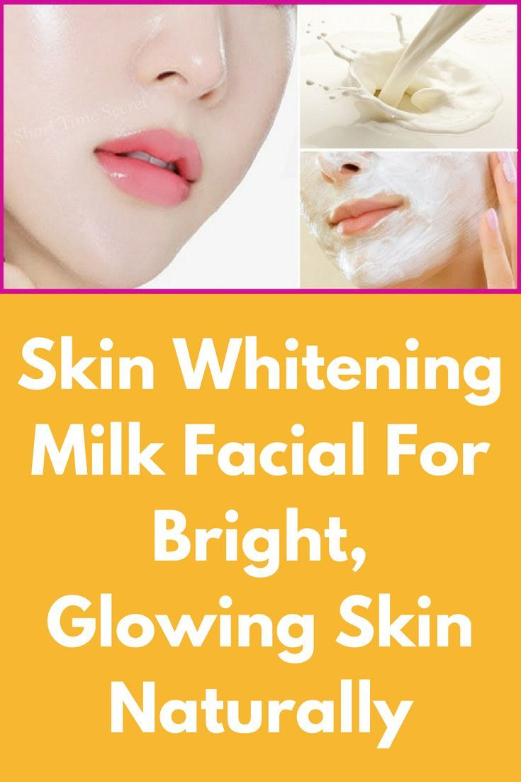 Milk facial homemade