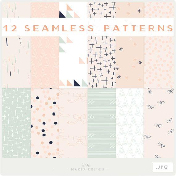 Bows Arrows & Pretty Little Things  JPG files  by ShhMakerDesign