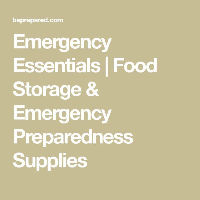 Emergency Essentials | Food Storage & Emergency Preparedness Supplies
