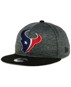 New Era Boys' Houston Texans Heather Huge 9FIFTY Snapback Cap - Gray Adjustable