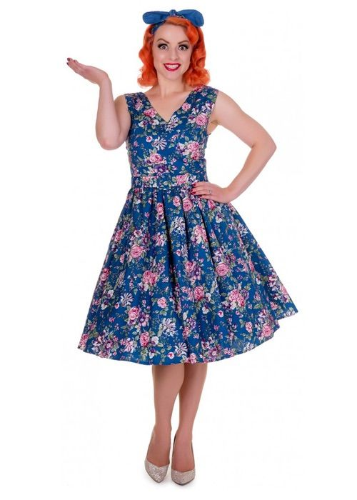 Dolly and Dotty Floral Swing Dress