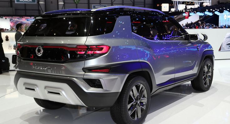 SsangYongs XAVL Concept Will Morph Into A Seven-Seater Production SUV