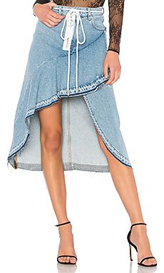 New OFF-WHITE Levi's Denim Skirt online. Find the  great Theory Clothing from top store. Sku hwtf14429htpe33902