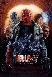 HELLBOY.  Director: Guillermo Del Toro.  Year: 2004.  Cast: Ron Perlman, Doug Jones and Selma Blair