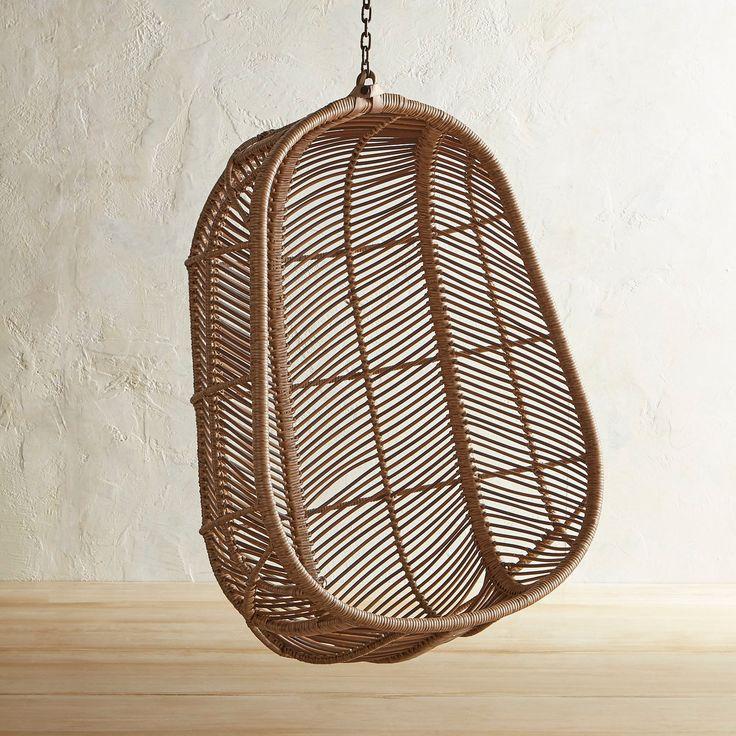 Swingasan® Croix Light Brown Hanging Chair | Pier 1 ...