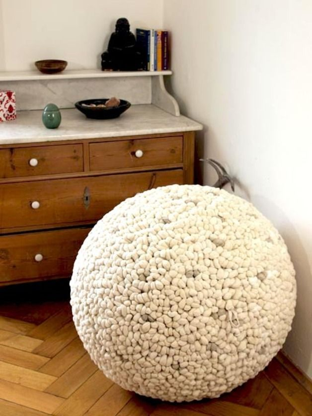 "Sitzball ""Nature Pebbles"" // sitting ball by green.orange for you via DaWanda.com"