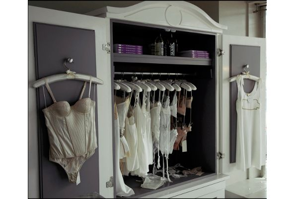 Spring cleaning time. We want a cupboard just for lingerie.