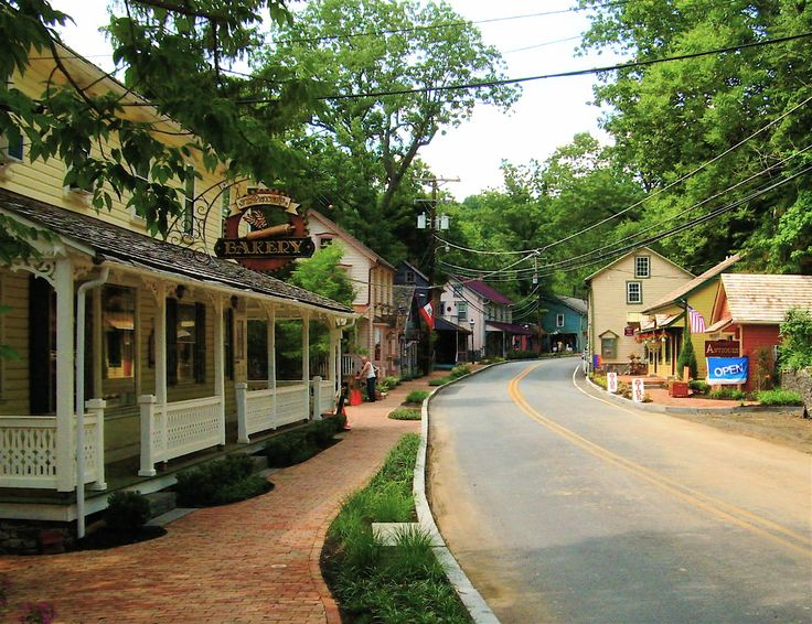 St Peters Village Historic District In Northern Chester County Pennsylvania