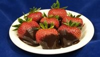 How to Prepare Frozen Chocolate-Covered Strawberries
