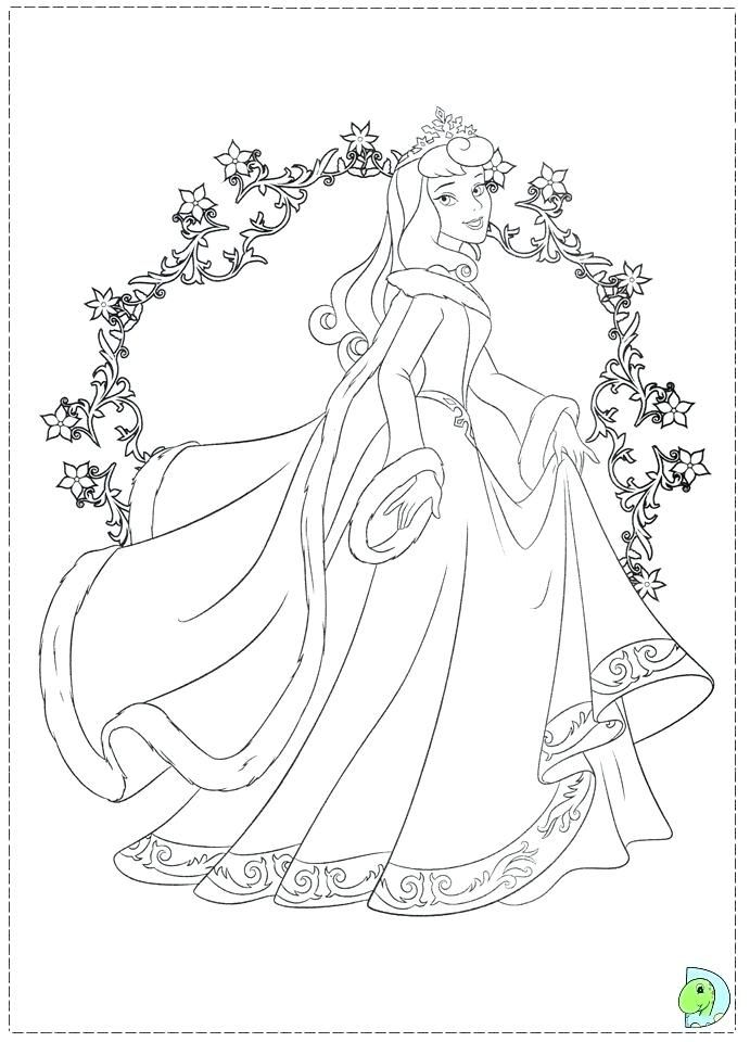 coloring coloring pages princess free with belle disney xmas