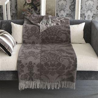Designers Guild - Throw - Kashgar Platinum