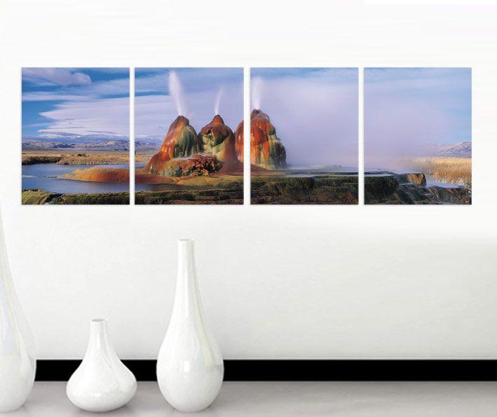 Yanardağ Tablo 4 parçalı tablolar