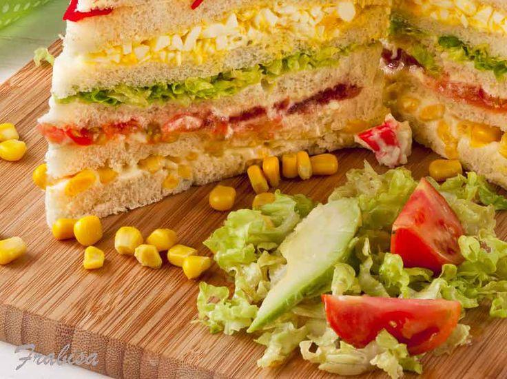 Cómo hacer Sandwich ¡GIGANTE!| lacocinadefrabisa