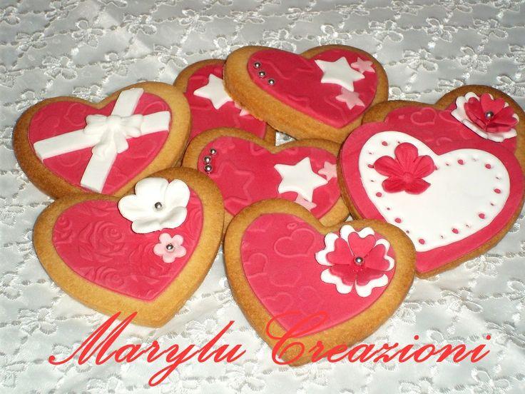 Biscotti a cuore per San Valentino, tutorial biscotti pacchetto regalo
