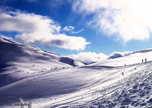 fabulous backcountry skiing at Whistler