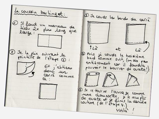 tuto pour faire un coussin berlingot a faire un jour. Black Bedroom Furniture Sets. Home Design Ideas