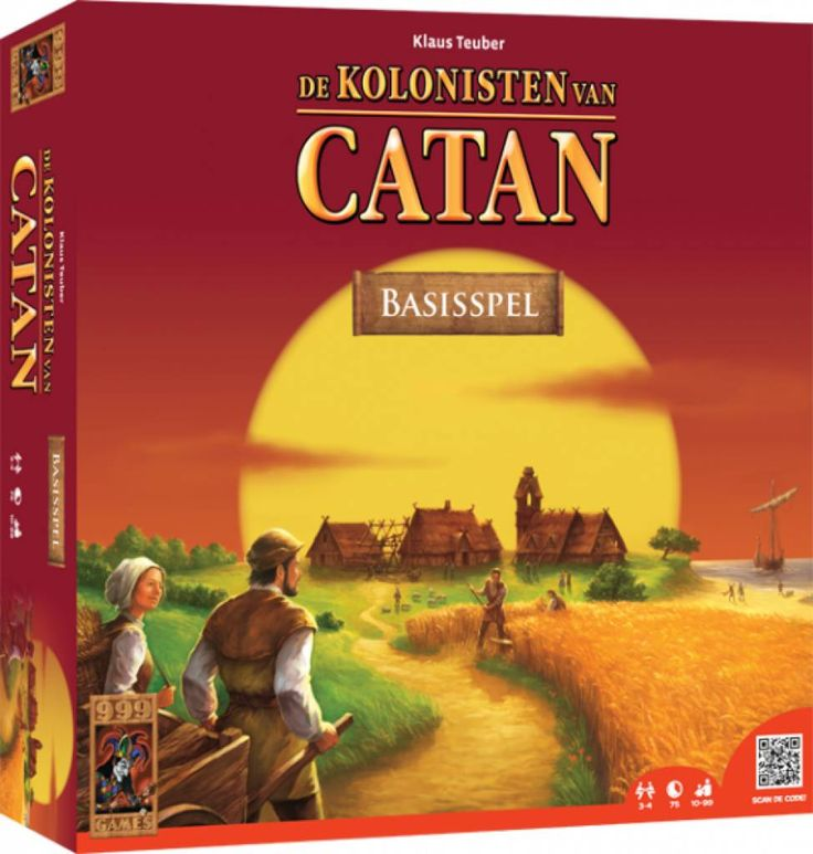 De nieuwste editie van het bekende handelsspel. Het spel bevat nu miniaturen en ook het artwork is volledig aangepast. Zo kun je je nog meer inleven in de wereld van Catan!  http://www.planethappy.nl/999-games-kolonisten-van-catan.html
