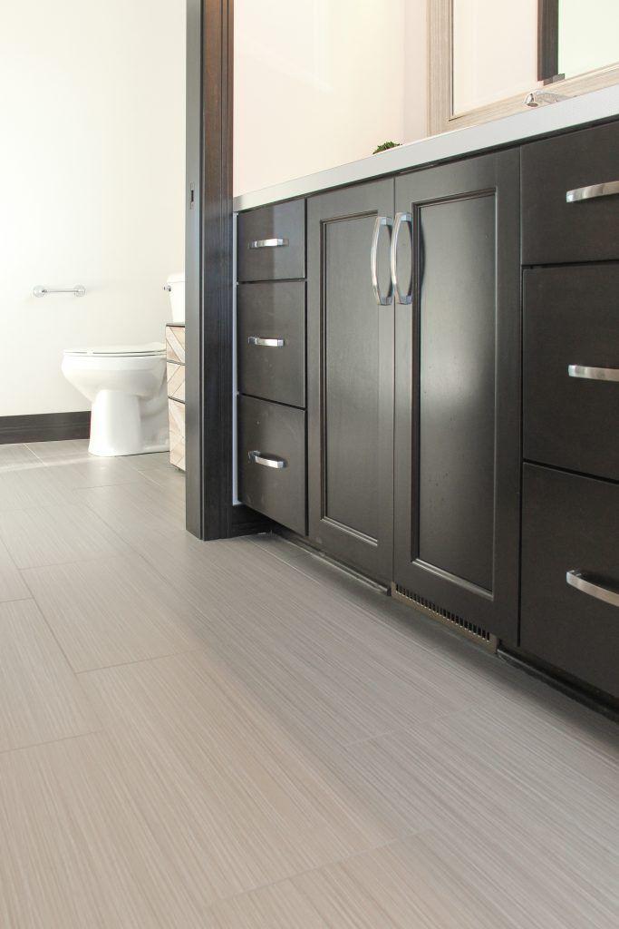 flooring tile zera annex 12x24 olive  grey bathroom