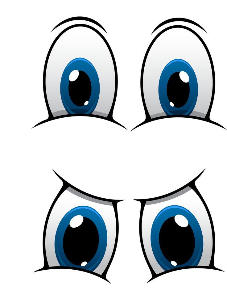 Смешные мультяшные глаза картинки, смешными