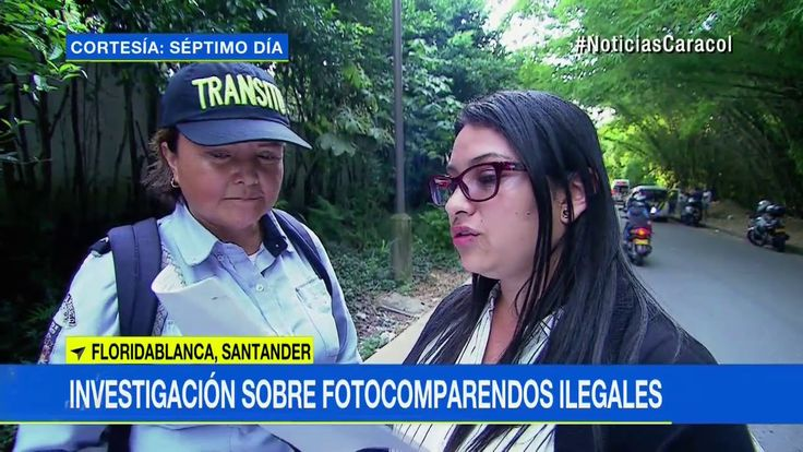 Detienen a agente de tránsito de Floridablanca tras denuncia de Séptimo día sobre fotomultas - YouTube