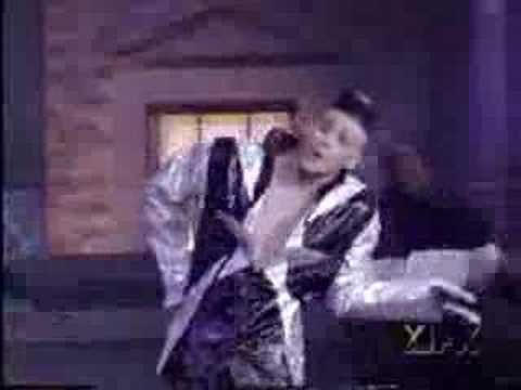 """Jim Carey-White White, Baby. (Vanilla Ice parody from his """"In Living Color"""" days.)"""