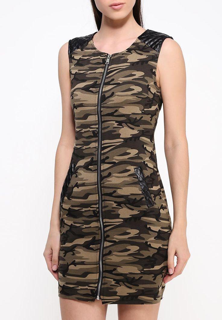 Камуфляжное платье на молнии Tantra за 2490.00 руб. в интернет-магазине http://fas.st/LJLUN