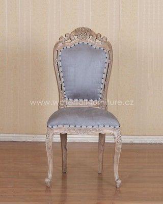 Retro židle - Provence jídelní židle