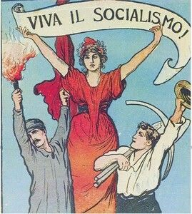 La via giudiziaria al socialismo. Fantastico. Nemmeno Cossuta l'aveva pensata