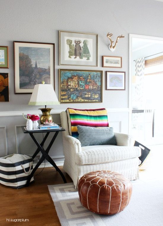 Design A Colorful Cozy Family Room With Homegoods Throws And Pillows Sponsored Home