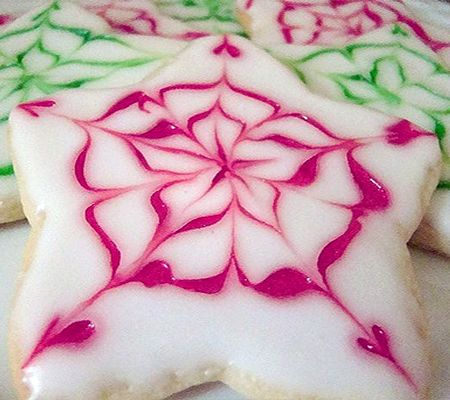 Sugar Cookie Icing Recipe  is tasted and looked good and was pretty easy to work with. I used this on the Soft Christmas Cookies by Georgie...